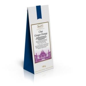 Aromatisierter Schwarzer Tee mit Gewürzmischung und Ingwer-Orangengeschmack