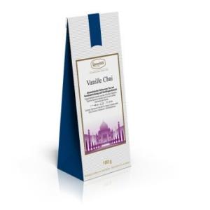 Aromatisierter Schwarzer Tee mit Gewürzmischung und Vanillegeschmack